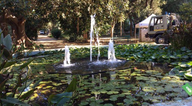 Cagliaris botaniske have fylder 150 år