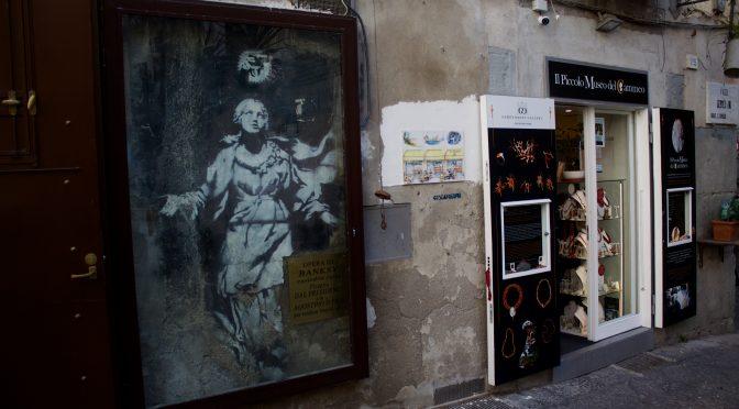 Napoli elsker Banksys ekstatiske Madonna