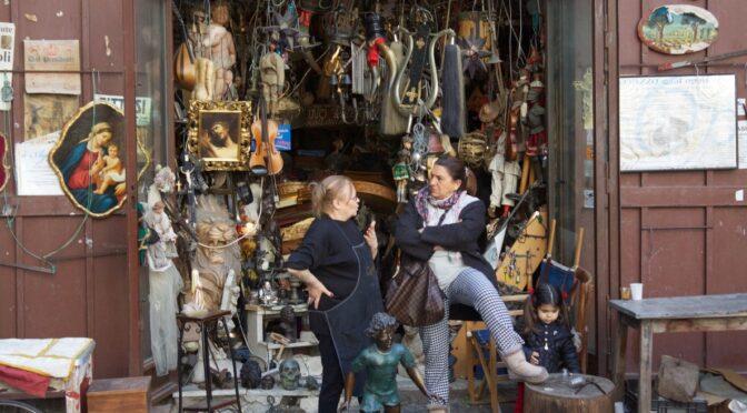 Antikvitetsbutikken i Napoli der ikke vil besøges