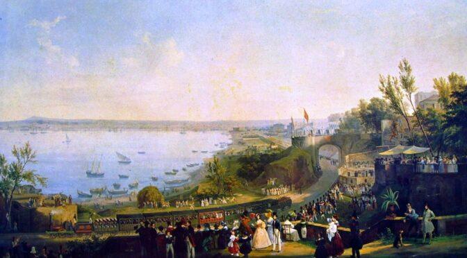 For 180 år siden åbnede Italiens første jernbane i Napoli