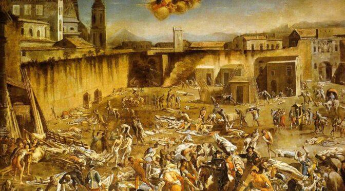 Napolis obelisker fortæller om håbet midt i katastrofen