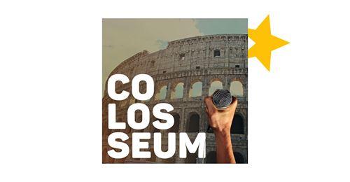 Syditalien i dit øre: rejs med på denne podcast hvor jeg er i studiet hos Colosseum